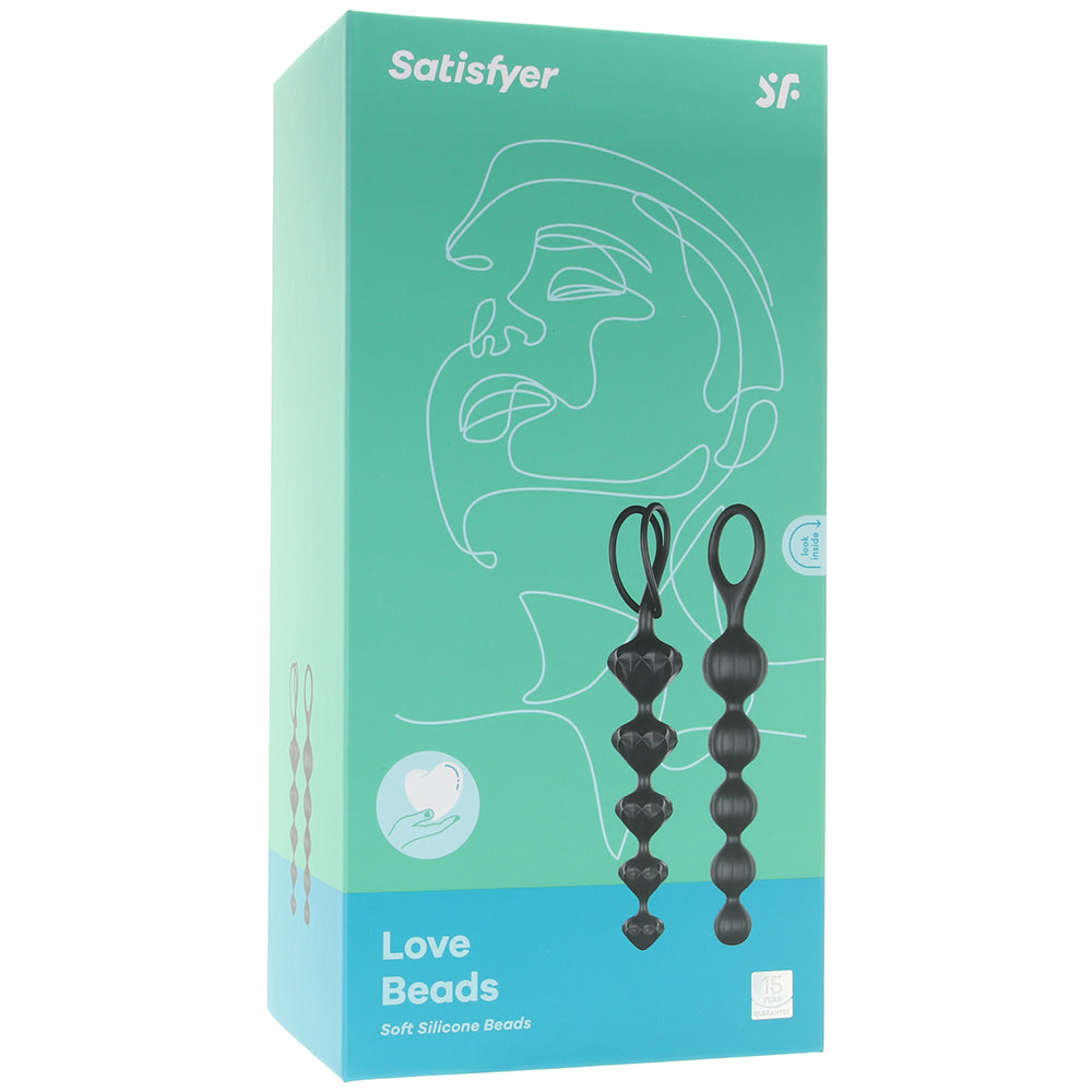 Satisfyer Soft Silicone Anal Beads