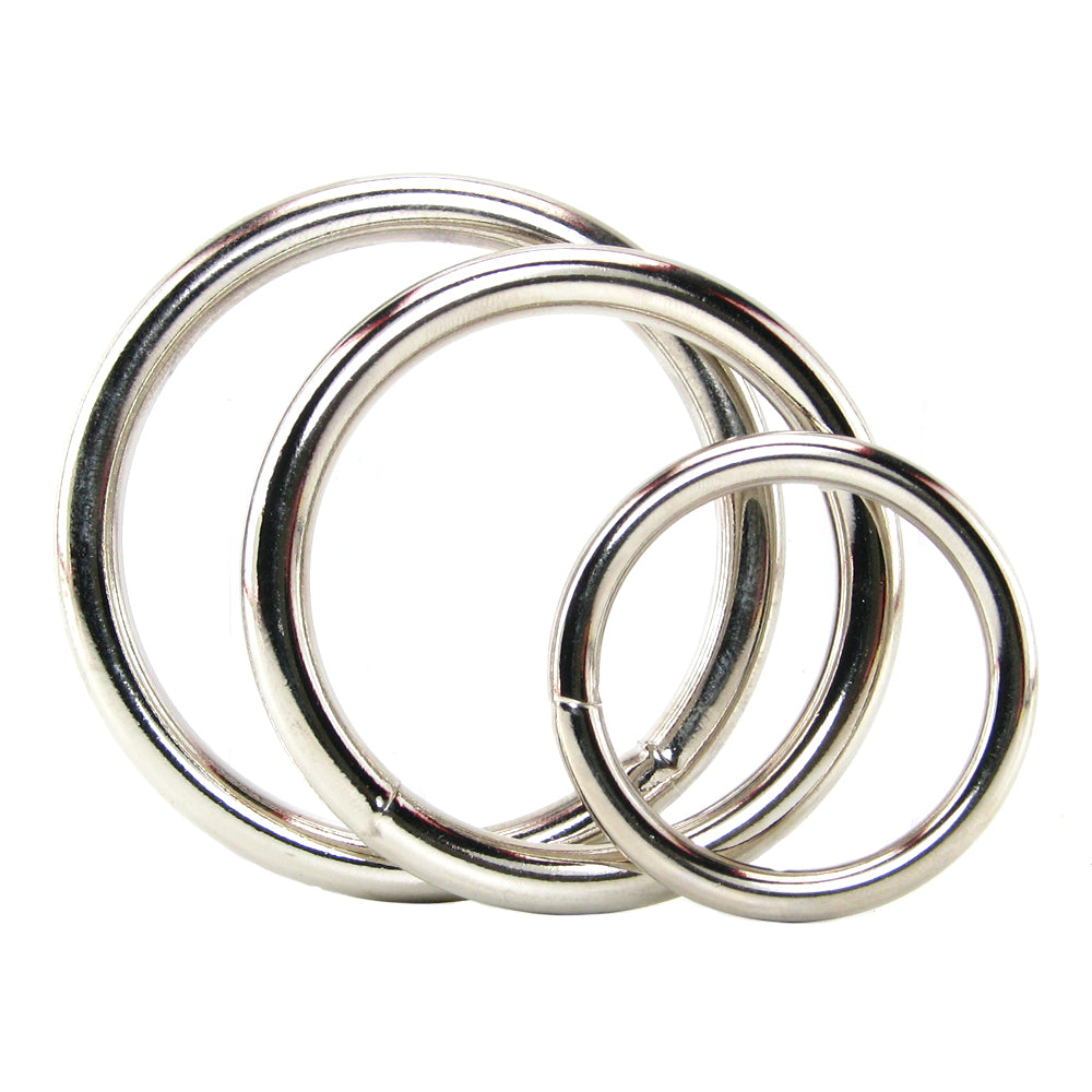 Metal Cock Ring Set