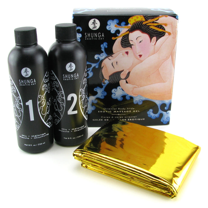 Oriental Body Slide Erotic Nuru Massage Kit