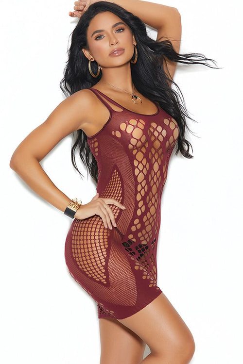 Casino Boogie Pothole Mini Dress