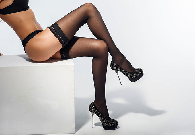 Why a Pair of Sexy Thigh High Stockings is the Accessory You're Missing