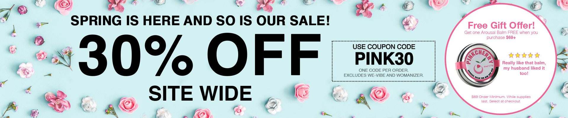 30% Off Site Wide - Use Code PINK30