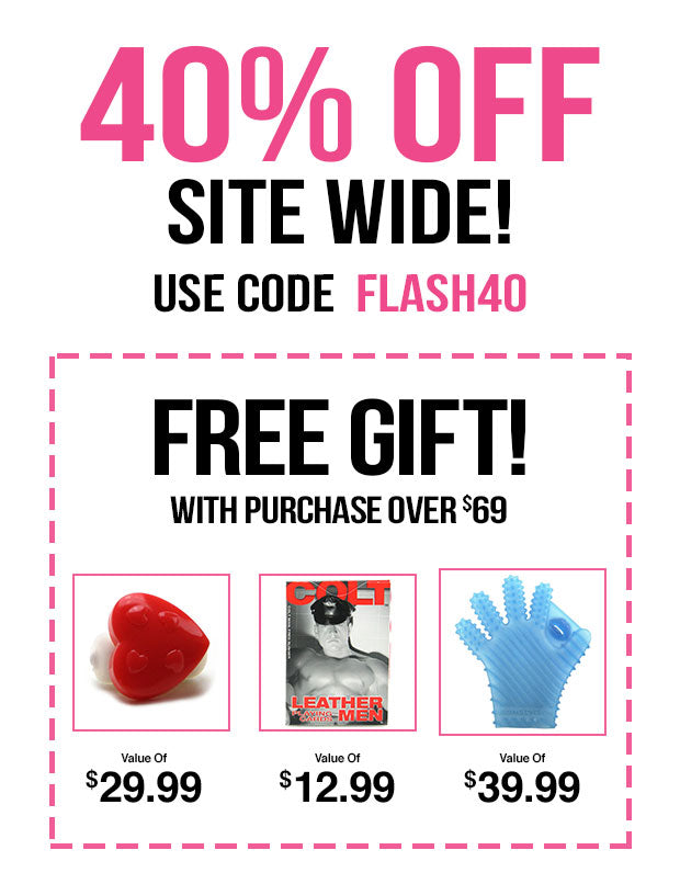 40% Off Everything! Use coupon code: FLASH40