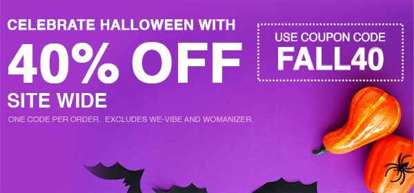 40% Off Site Wide - Use Code FALL40