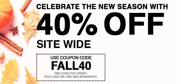 30% Off Site Wide - Use Code FALL40