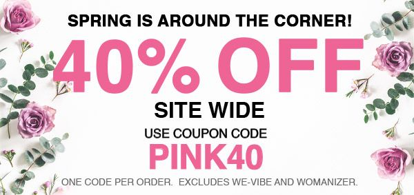 40% Off Site Wide - Use Code PINK40
