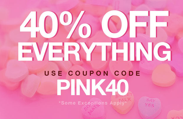 40% Off Everything! Use coupon code: PINK40