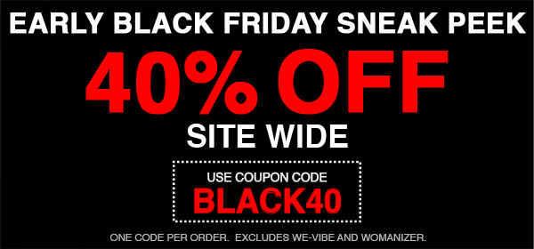 40% Off Site Wide - Use Code BLACK40