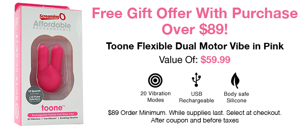 Free Gift With Purchase Over $89!