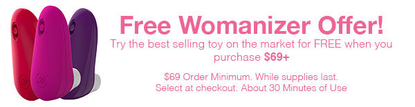 Free Womanizer Gift On Orders Over $99! While Supplies Last! Select At Checkout