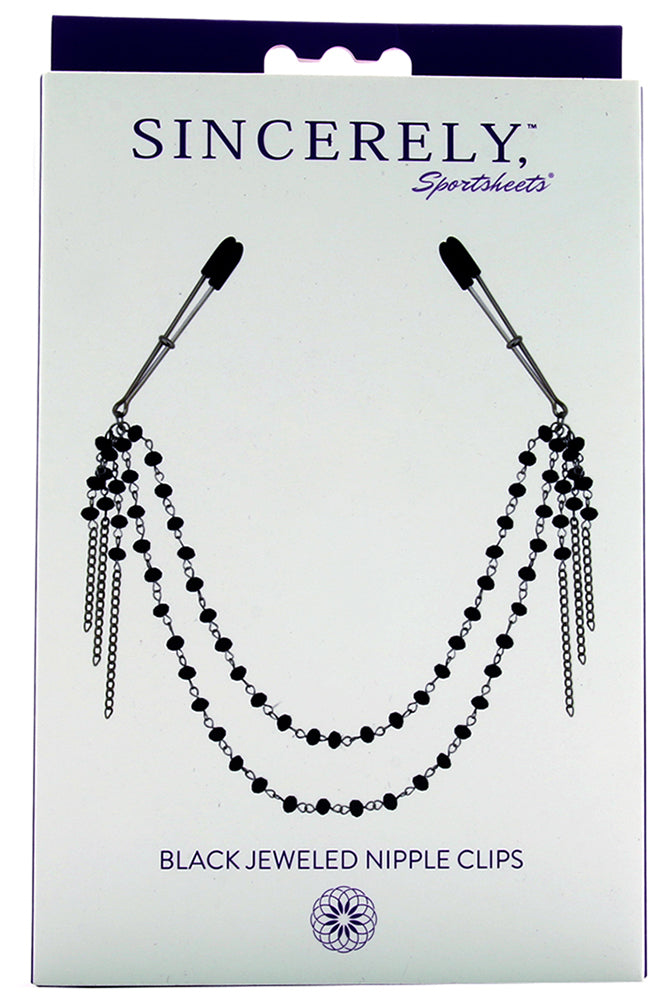 Sincerely Jeweled Nipple Clamps