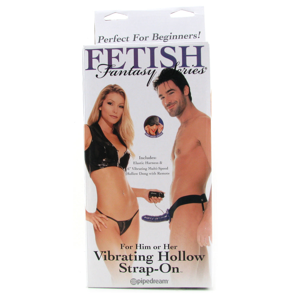 Fetish Fantasy Unisex Hollow Strap-On Vibe