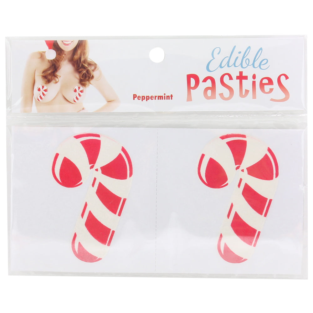 Edible Peppermint Candy Cane Pasties