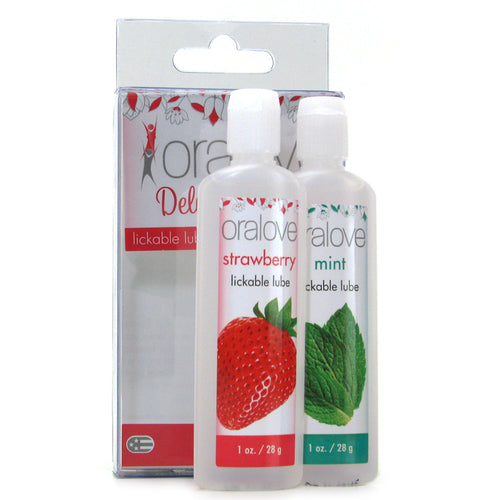 Oralove Delicious Duo Lickable Lubes