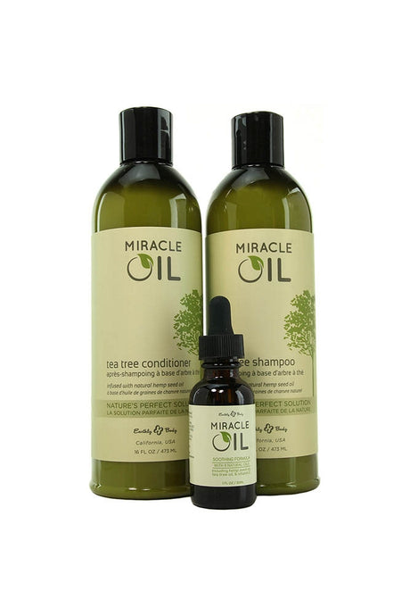 Miracle Oil Hair and Skin Care Gift Set