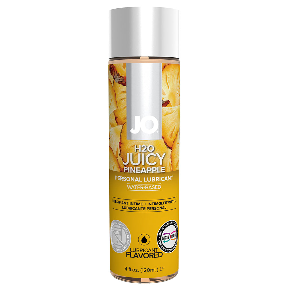 H2O Juicy Pineapple Flavored Lubricant