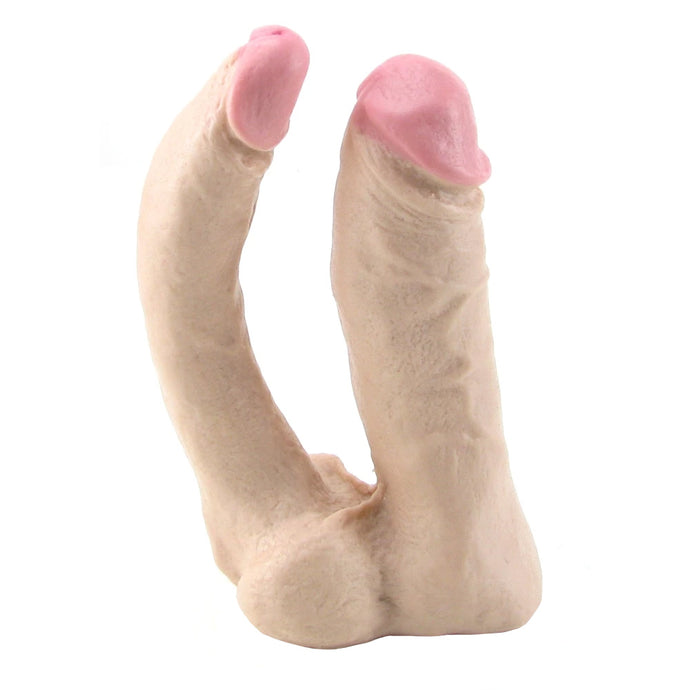Natural Double Penetrator Vac-U-Lock Dildo