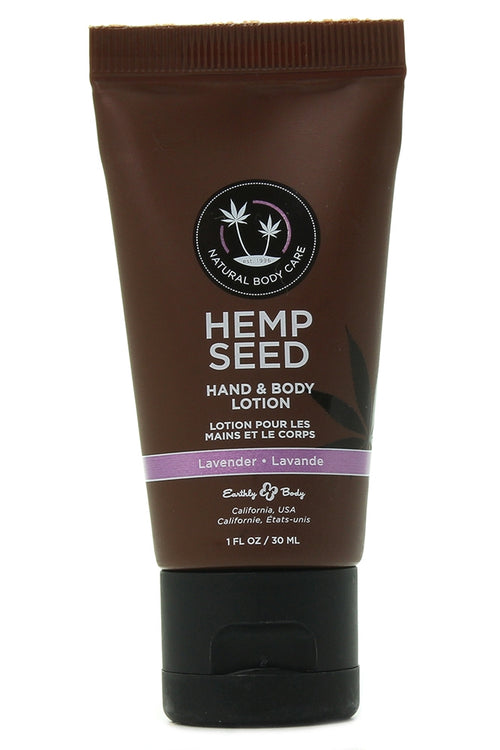 Hemp Seed Hand & Body Lotion 1oz/30mL