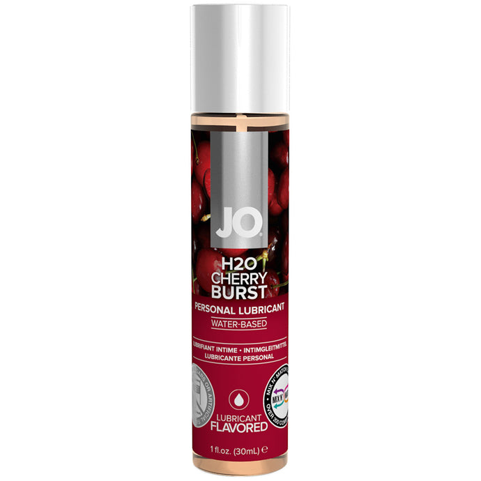 H2O Cherry Burst Flavored Lubricant