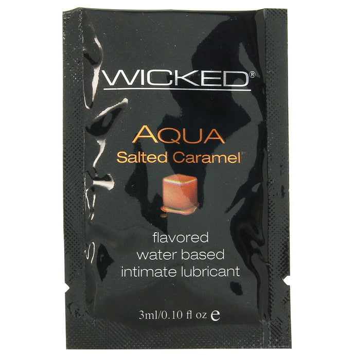 Aqua Salted Caramel Flavored Lube