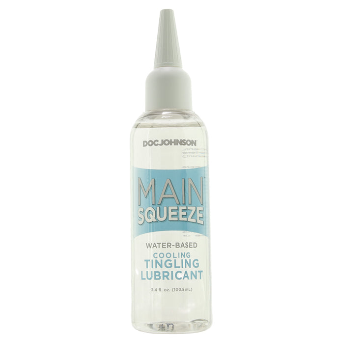 Main Squeeze Water-Based Cooling Tingling Lubricant