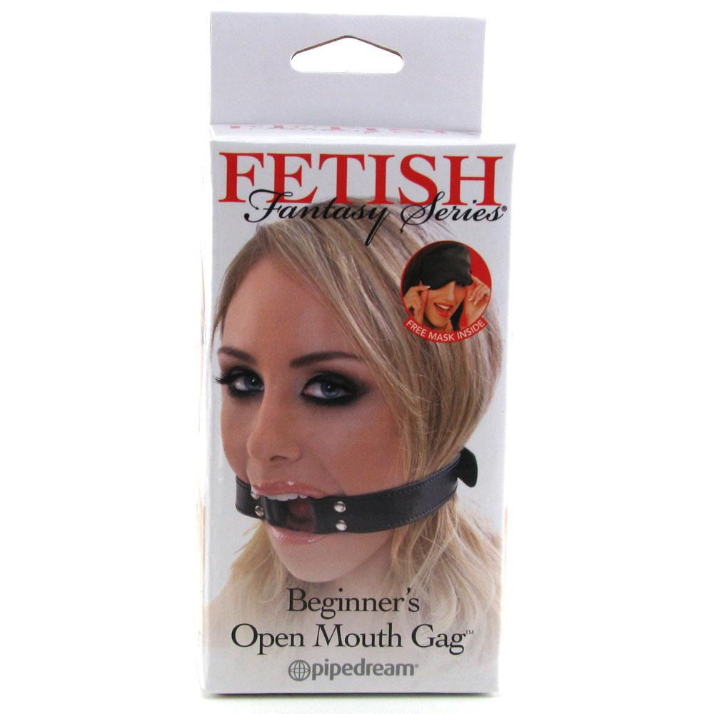 Fetish Fantasy Beginner's Open Mouth Gag