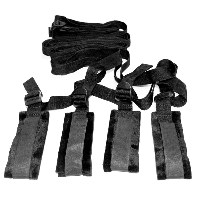 Sex & Mischief Bed Bondage Restraint Kit