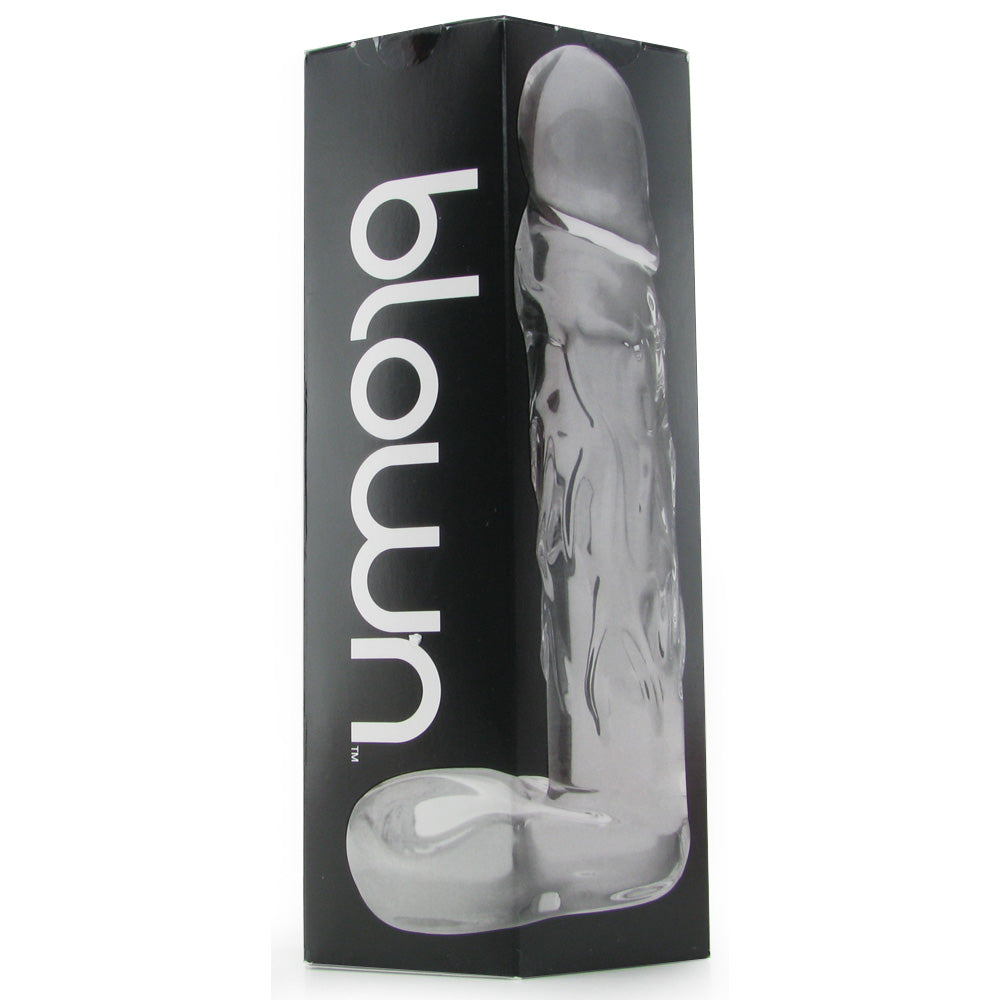Blown Large Realistic Glass Dildo