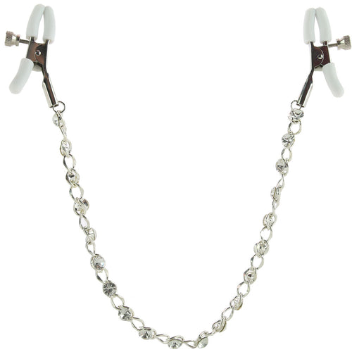 nipple play Crystal Chain Nipple Clamps