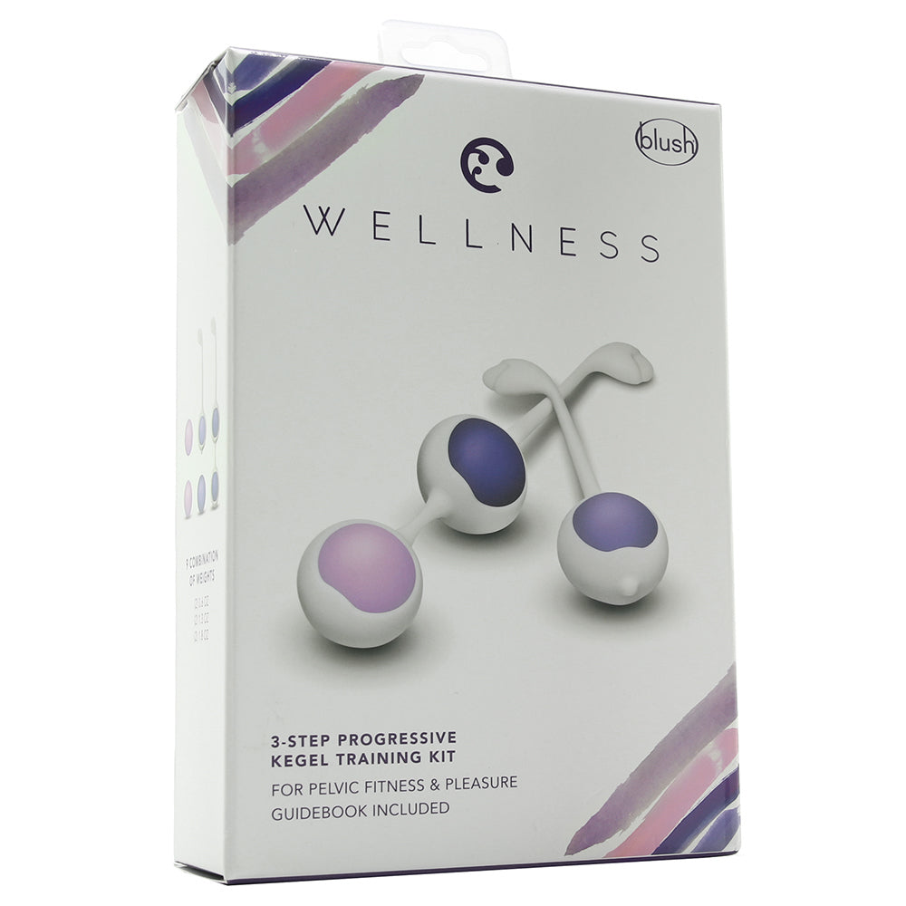 Wellness 3 Step Progressive Kegel Training Kit
