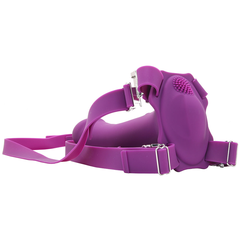 ME2 Rumble Vibrating Silicone Strap-On