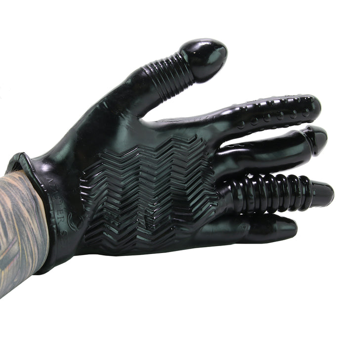 Pleasure Poker Textured Stimulation Glove