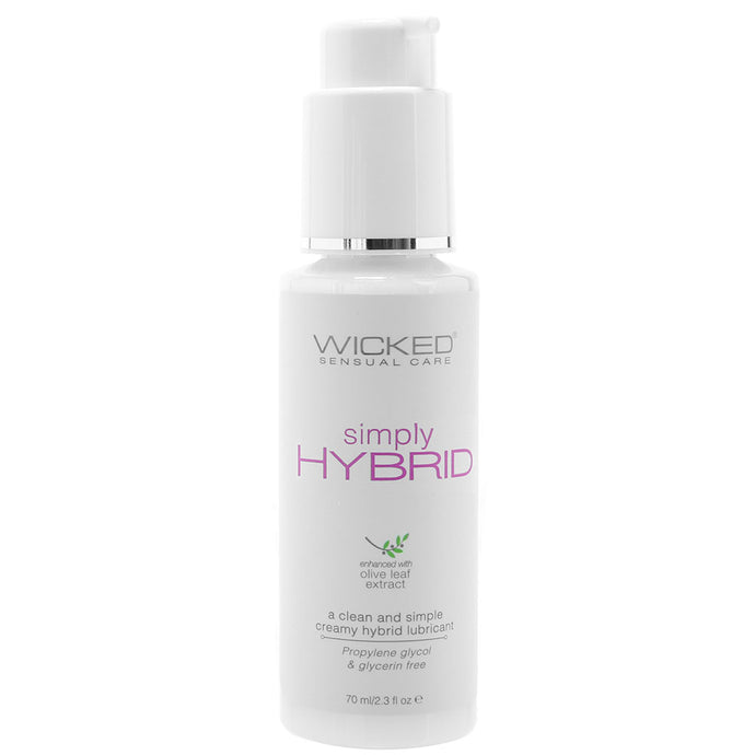 Simply Hybrid Lube 2.3oz / 70ml