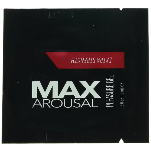MAX Arousal Extra Strength Pleasure Gel