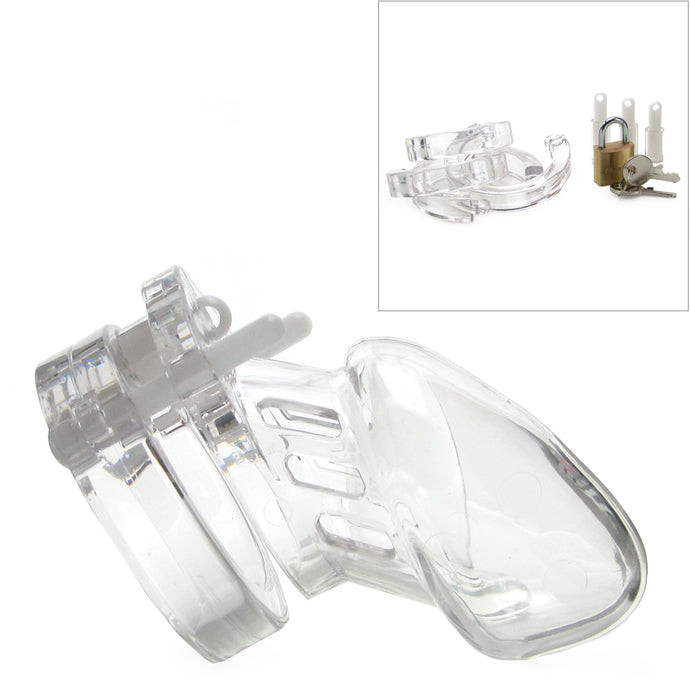 CB-6000S 2 1/2 Inch Male Chastity Device