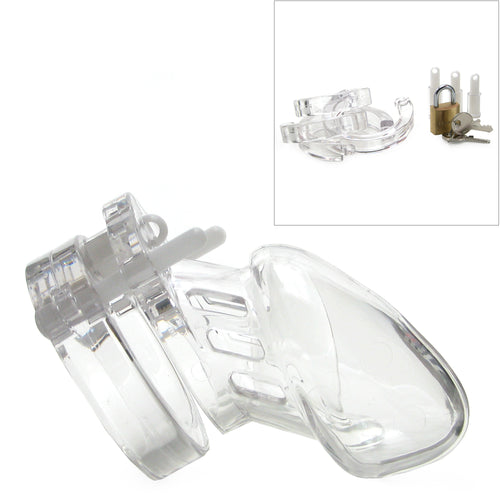 CB-6000S Male Chastity Device Clear