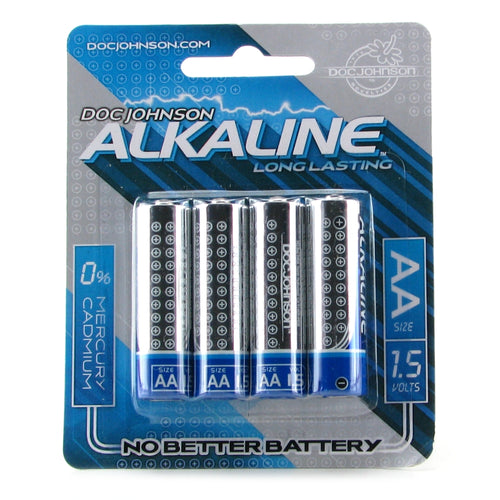 Alkaline AA Long Lasting Batteries 4 Pack