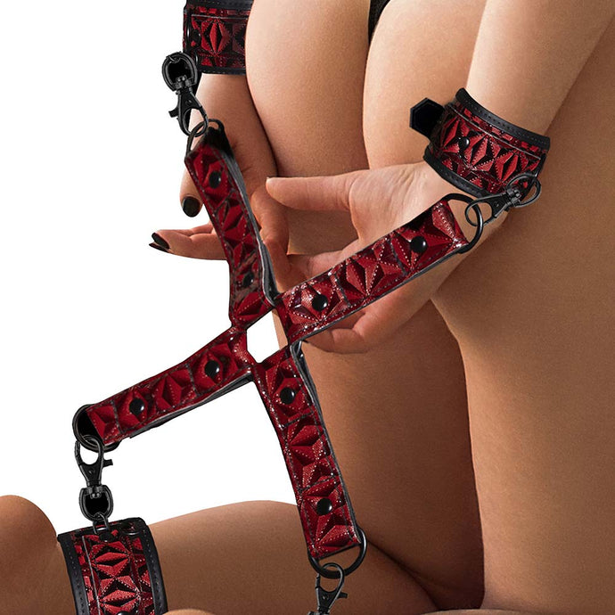 Luxury Hogtie Cuff Set