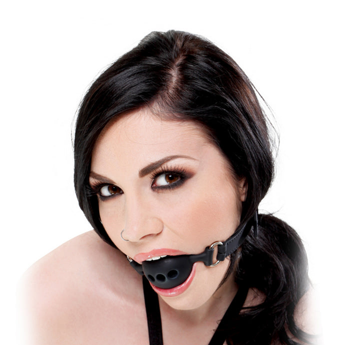 Extreme Silicone Breathable Ball Gag