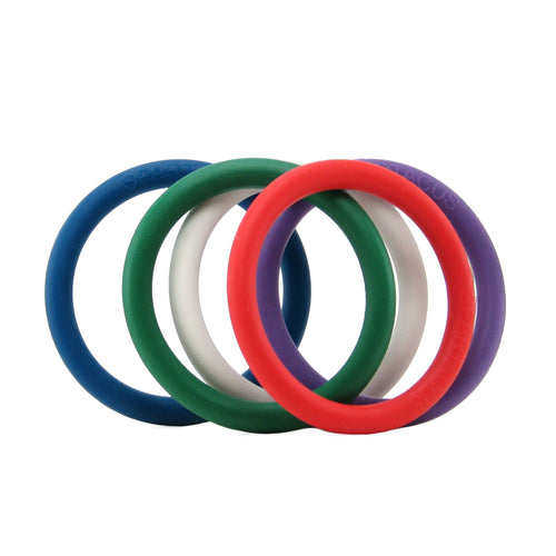 Rubber 1.25 Inch C-Ring 5 Pack
