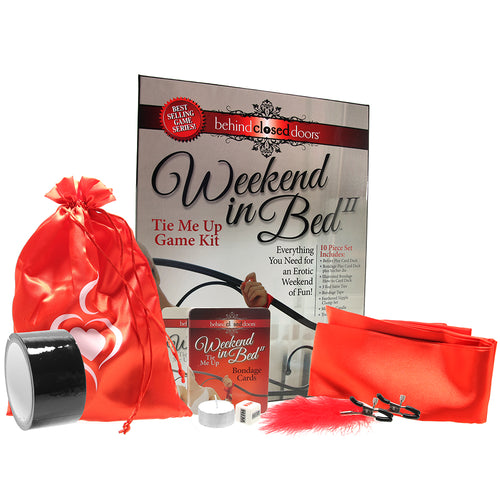 Weekend in Bed 2 Tie Me Up Game Kit