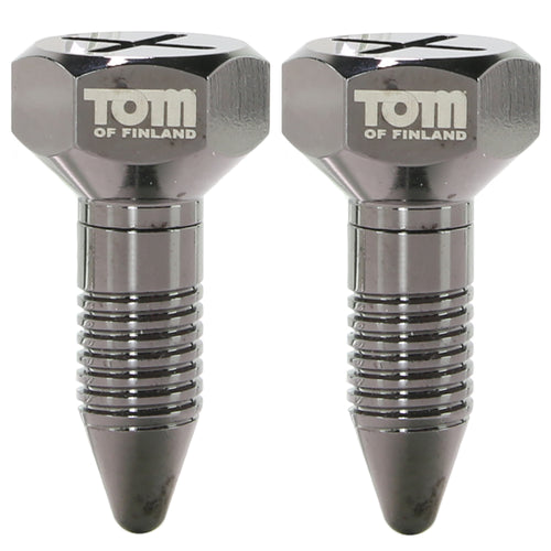 Tom of Finland Screw U II Magnetic Nipple Clamps