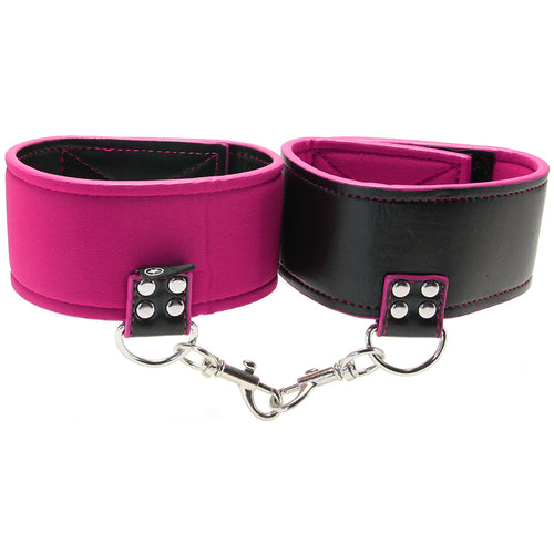 Ouch! Reversible Leather and Neoprene Ankle Cuffs