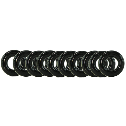 My Ten Tight Firm Cock Rings
