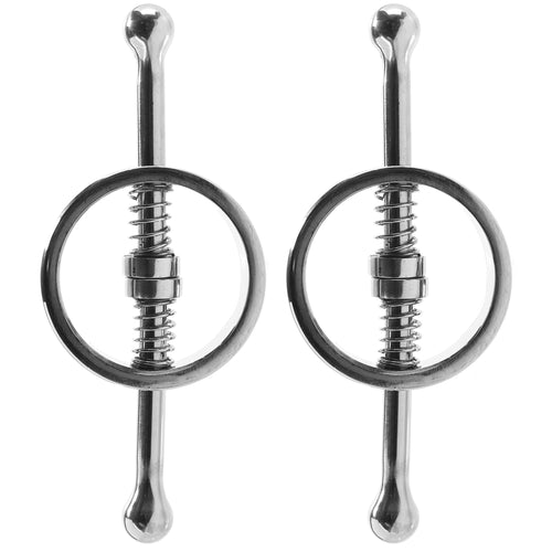 Stainless Steel Spring Loaded Nipple Clamps