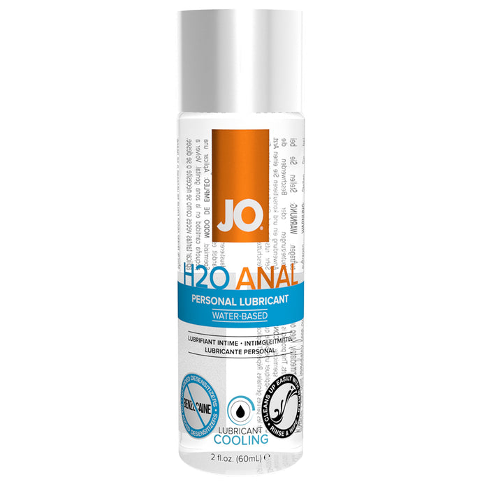 H2O Anal Personal Lube 2oz/59ml