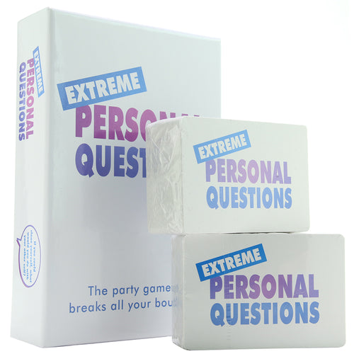 Extreme Personal Questions Party Game