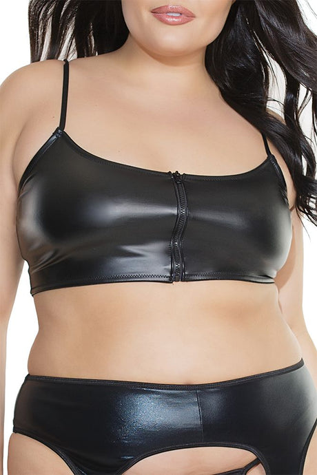 Diva Matte Wetlook Bralette
