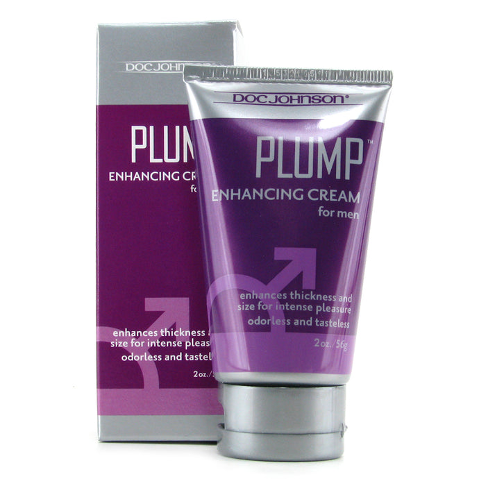 Plump Enhancement Cream for Men with Package