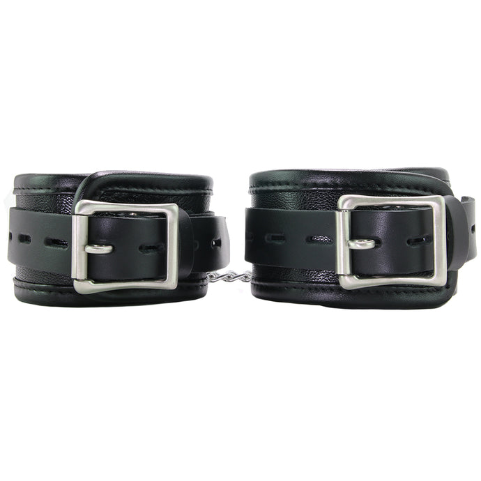 100% Genuine Leather Premium Wrist Cuffs